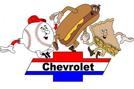 The famous jingle - baseball, hot dogs, apple pie and Chevrolet