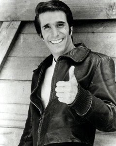 The Fonz always had trouble admitting he was wr-wr-wrong.