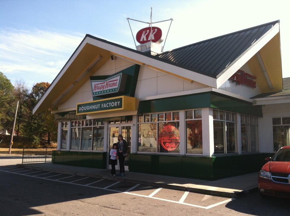 Visiting the very first Krispy Kreme in Atlanta, GA
