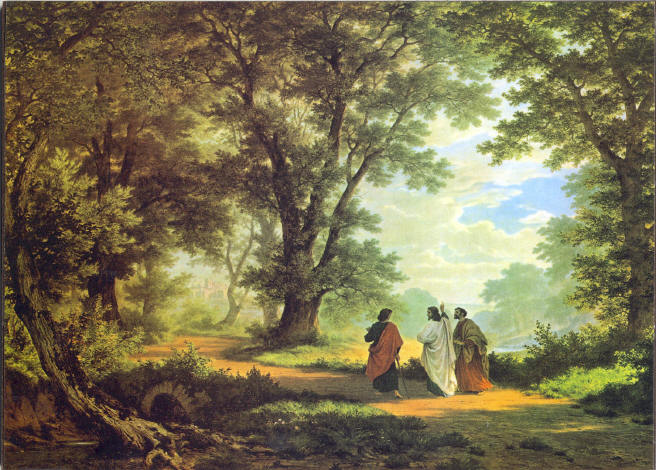 On the road to Emmaus with Christ