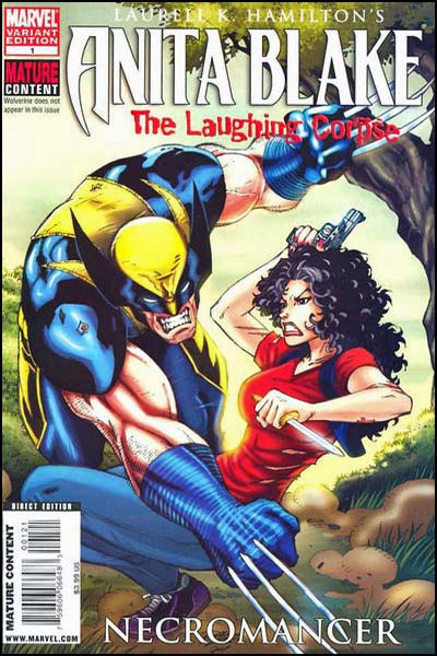 Wolverine doesn't appear in this book!  Funniest cover.