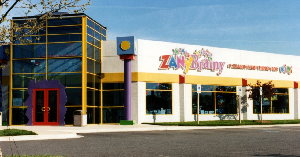 One of the Zany Brainy signature toy stores