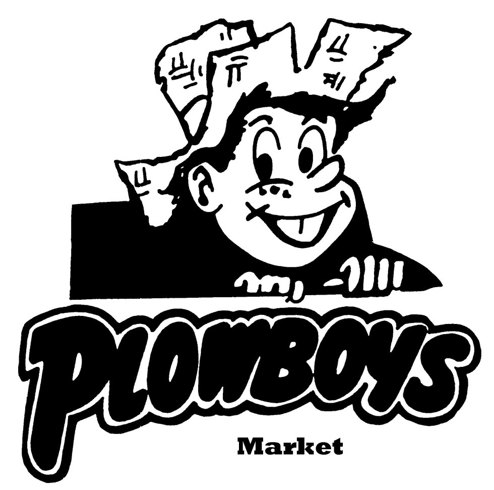 The Plowboys Market logo as I remember it as a child