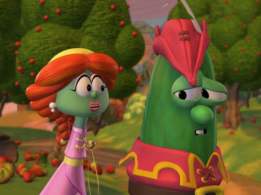 The story of Ruth as told by VeggieTales