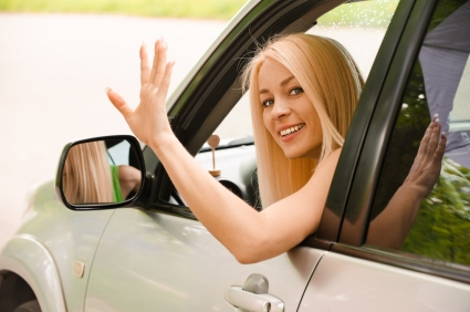 "Waving ""thank you"" in traffic - does that happen any more?"
