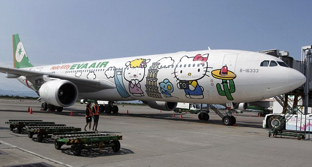 Hello Kitty plane
