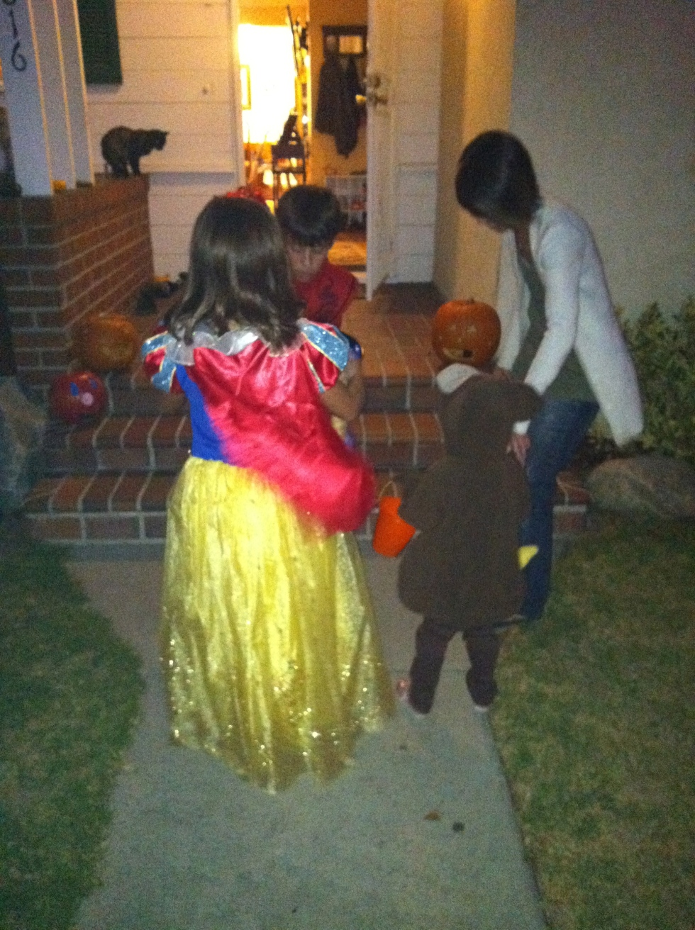 Trick or treating - part of the Christian tradition