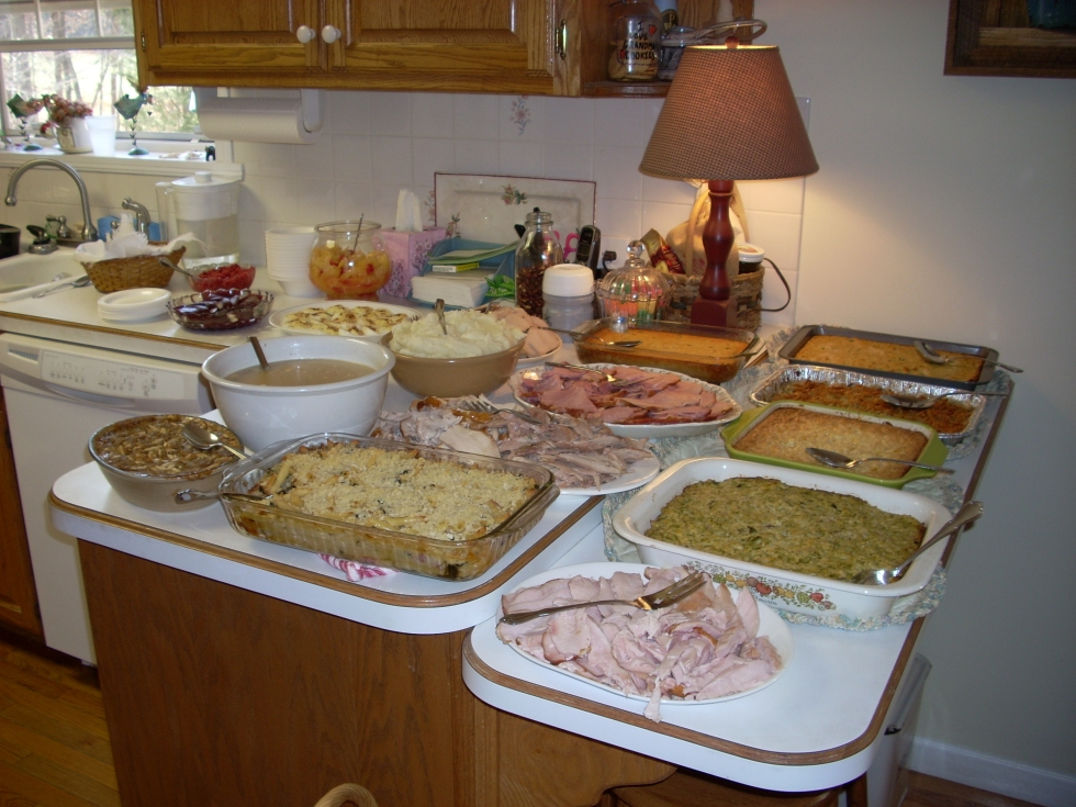 Thanksgiving with Tot and Hatch...yummy