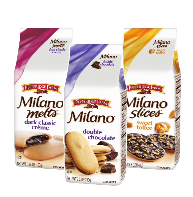 Milano cookies, the 4th best selling cookie in America