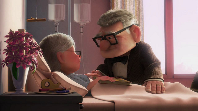 I'd like to think Carl and Ellie from the movie UP never had this problem