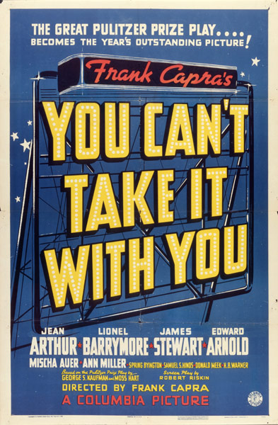 The 1939 Best Picture based on the play of the same name