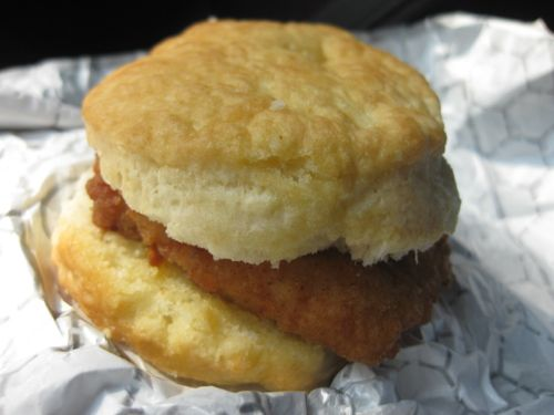 The Chick-fil-A Chicken Biscuit