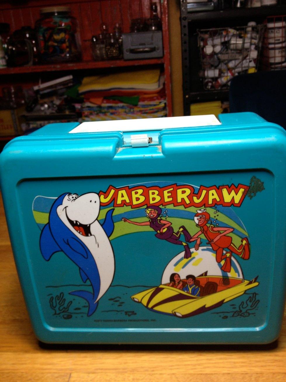 Jabberjaw lunchbox like the kind I was familiar with