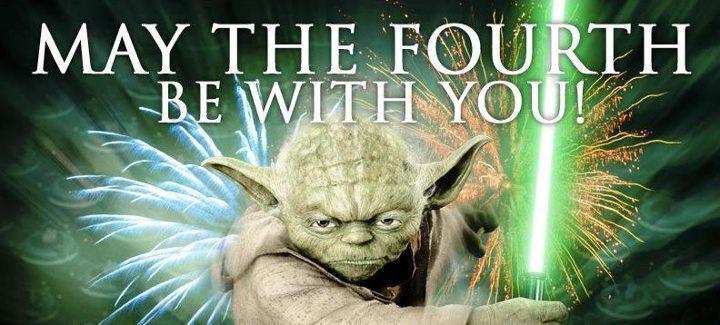 Celebrating Star Wars Day!