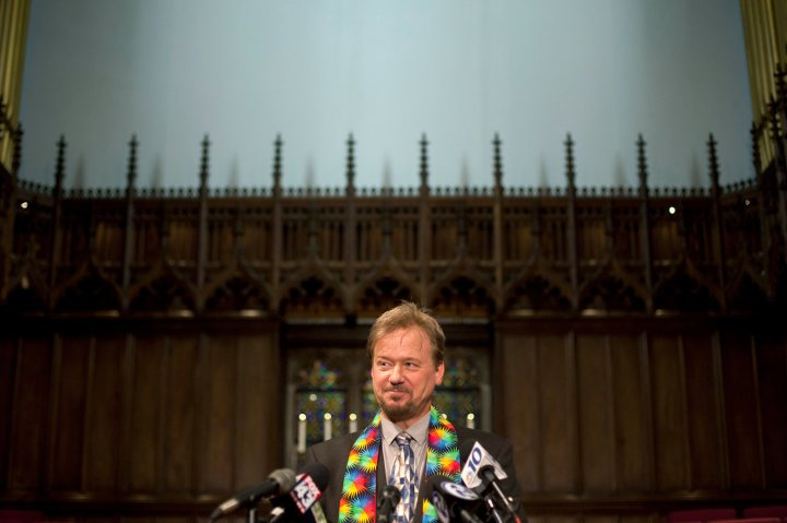 Picture of Rev. Schaefer courtesy of the NY Times
