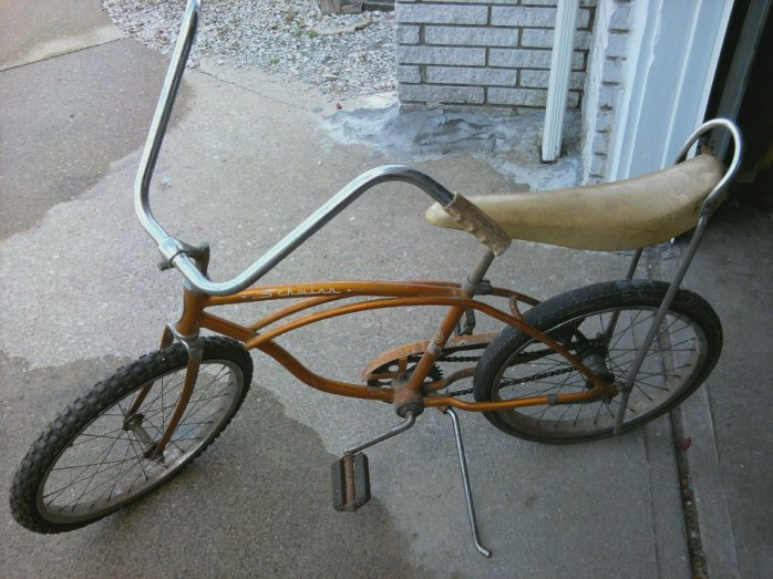 Very similar to the bicycle I had as a child.