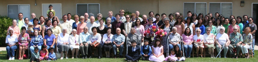 The combined families of Palm and First UMC in Dinuba