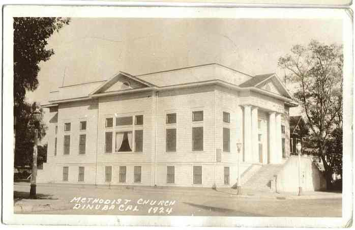 First UMC as it stood back in 1924