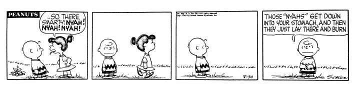 This week's Peanuts cartoon