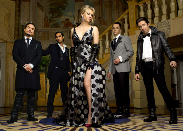Cast of the Big Bang Theory whose title is based on Hoyle's coined phrase