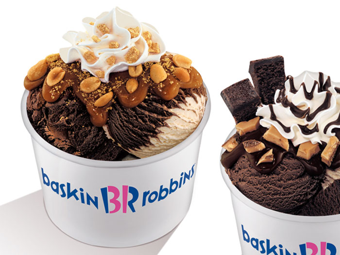 Baskin Robbins - sometimes life is made easier with ice cream