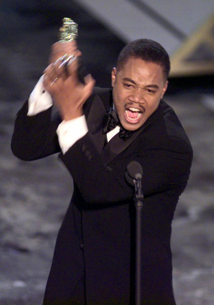 Cuba Gooding Jr.'s acceptance speech