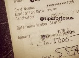 """Anonymous """"tipster"""" leaves thousands of dollars for love of God."""