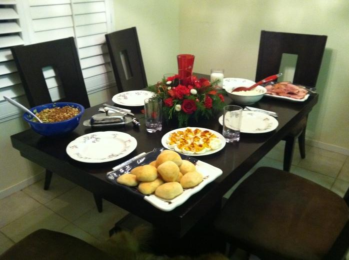 Cassie's perfect dinner