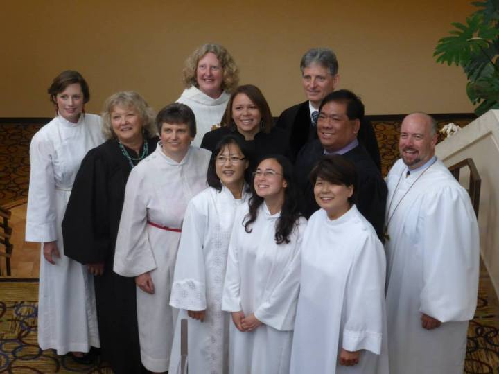 Proud to be ordained with both women and men who love God