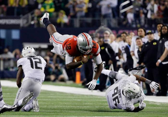 Ohio State comes up the winner in the 1st college football national championship playoff game