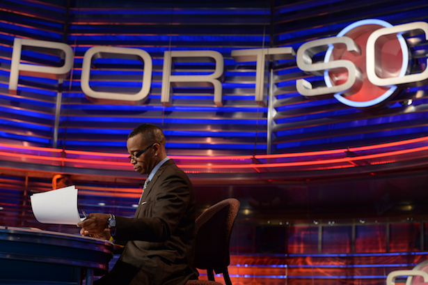 Stuart Scott of ESPN