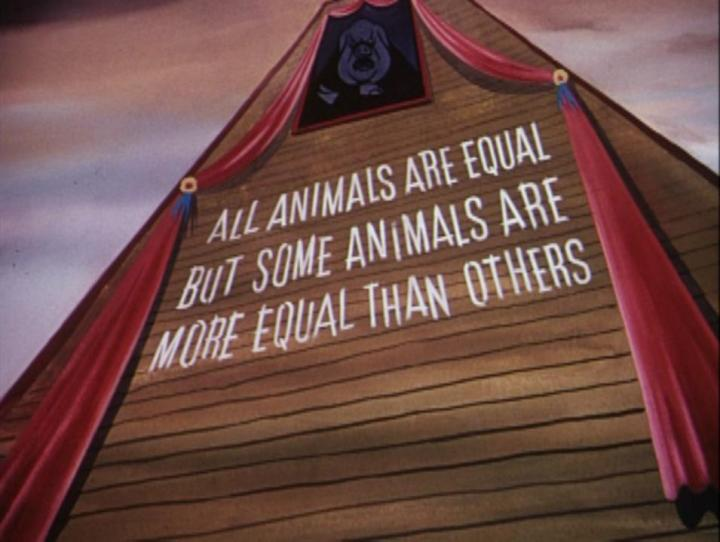 One of the famous lines from the book Animal Farm