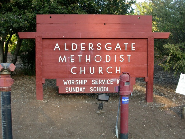 Aldersgate UMC in Palo Alto - one of our historically Japanese churches