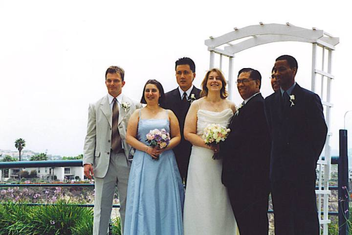 A union of any two groups can be like a marriage - like mine with Cassie