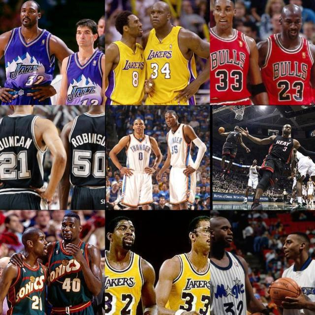 Great NBA duos