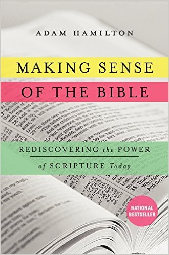 The cover for Adam Hamilton's Making Sense of the Bible