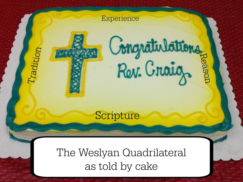 The Weslyan Quadrilateral was the triple lens through which John Wesley discovered the truth of Scripture