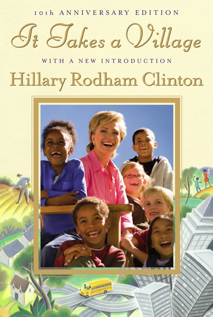 Cover of the anniversary edition of It Takes A Village by Hillary Rodham Clinton