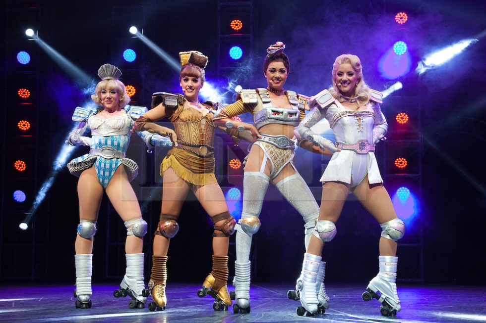 From the London production of Starlight Express. © Licensed to London News Pictures. 11/05/2012. Photo credit: Bettina Strenske/LNP