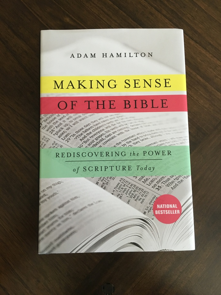 The cover for Adam Hamilton's book about tough questions from the Bible