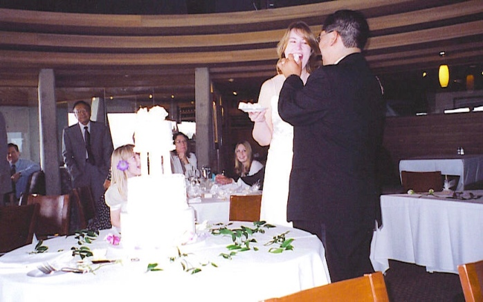 From our wedding day - working on 15 years and only getting better