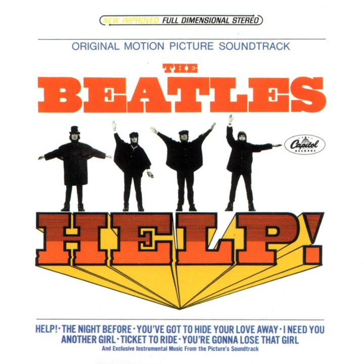 Help! - US album contains different tracks than the original album