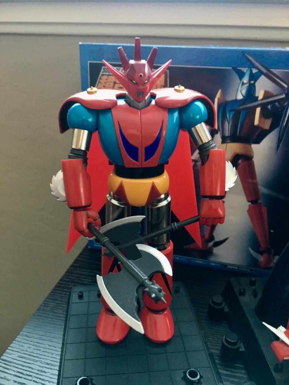 Red Dragon - The lead configuration of Getter Robo G