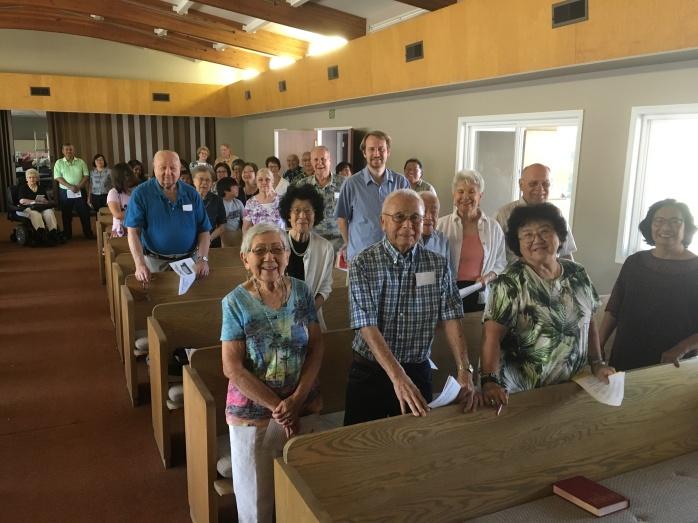 Our community of faith at Palm UMC
