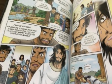 Interior art work from the Manga Bible - the whole Bible isn't like this, there are just a few stories laid out in manga format