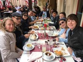 Big lunch at Carnation Cafe!
