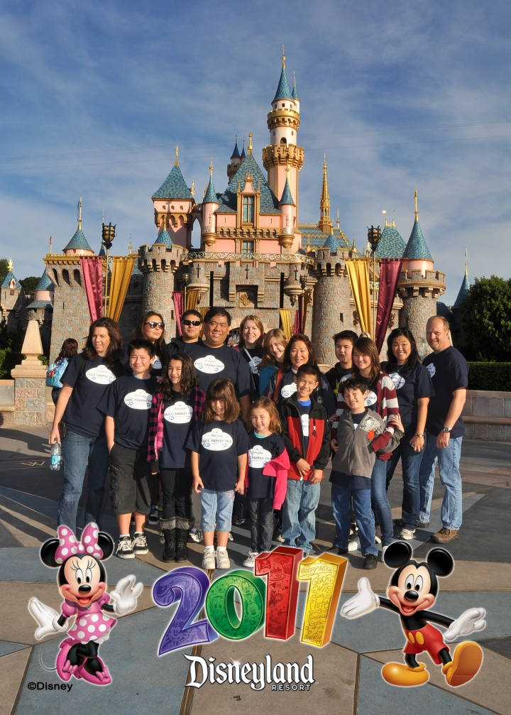 Our first Faith and Family Trip in 2011