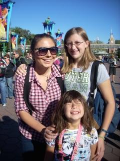 Visiting Disneyland together!