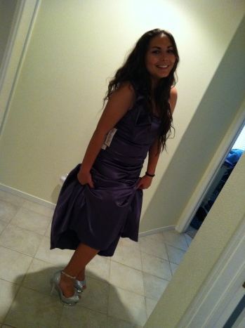 Kristina's first prom!