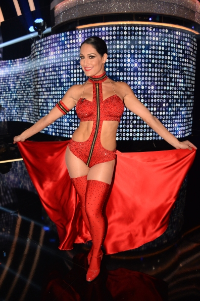 Loved Nikki Bella's routine! Fierce and bold! (ABC/Eric McCandless) NIKKI BELLA
